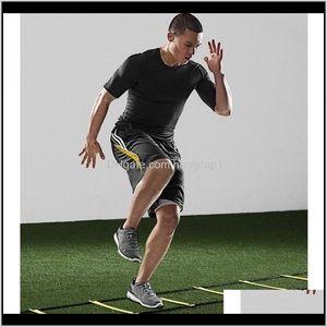 لوازم المعدات في الهواء الطلق في الهواء الطلق الرياضة دائم شقة 8 روبية 4 متر أجيليتي سلم لسرعة كرة القدم كرة القدم اللياقة البدنية التدريب قطرة D