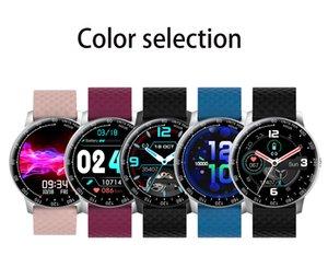 H30 Men Fitness Tracker Full Touch Round Screen DIY Watch Face IP68 Waterproof Smartwatch for Women