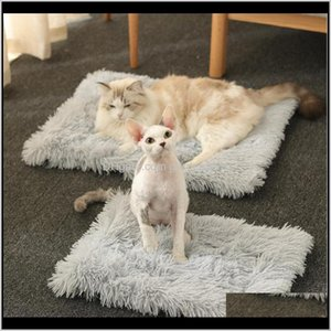 Comfotable Cat Blanket Four Seasons 2 In 1 Nests Winter Warm Sleeping Pads Cushion For Home Kitten Dog Pet Supplies Beds Furniture Hag Tjw38