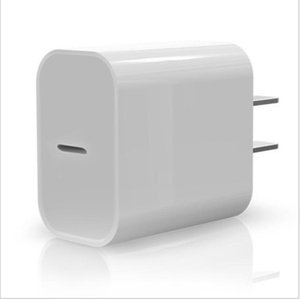 USB C Wall adaptor 18W Power Delivery PD Quick Charger Adapter TYPE C Charger Fast adaptor i 11 11 Pro max without Box 2021