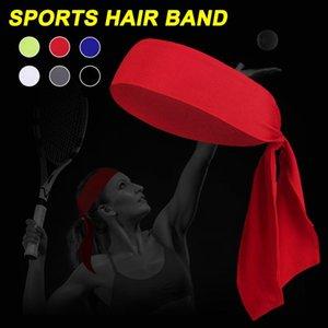 2pcs Head Tie Headbands For Men Women Solid Color Quick Dry Sports ASD88 Yoga Hair Bands