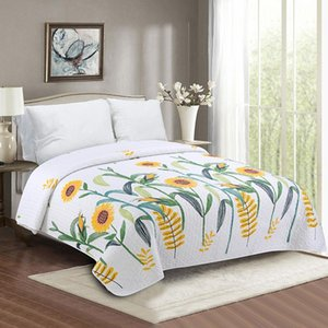 Fashionable Bedding Seam Bedspread Elegant Summer Duvet Quilt Print European Bed Cover Comforters & Sets