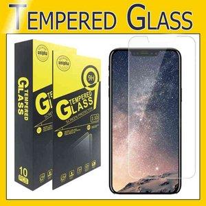 Защитная пленка для защиты экрана для iPhone 12 11 Pro Max для iPhone X XS MAX 8 7 6 PLUS Samsung J3 J7 Prime LG Stylo 4 закаленного стекла
