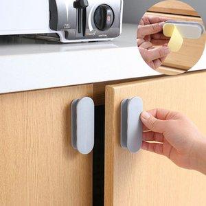 Handles & Pulls 2pcs Household Multi-purpose Handle Door Window Cabinet Punch-Free Drawer Organizer Labor-Saving Auxiliary Pull