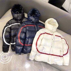 Мужская зимняя куртка Дизайнер Даун Парки Высококачественные Пальтовые Куртки Мода Круглые Шеи Мужчины и Женщины Ветровая Ветер Хаудяка Теплая Одежда