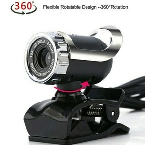 Webcams Web Camera PC Computer Night Vision Webcam USB HD With Microphone Cam Webcamera For Youtube Video Teaching