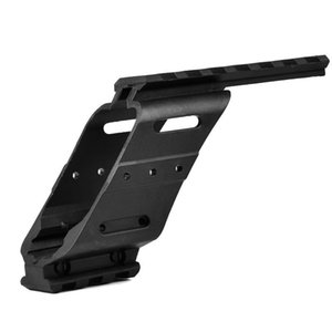50pcs Tactical Pistol Scope Polymer Nylon Rail Side Mount For Glock 17 Water Gun Bracket Hunting Accessories