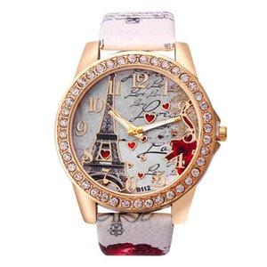 Роскошные мужские и женские часы дизайнерские брендовые часы Montre de Luxe Motif Tour Налейте Femmes, EN или, Acier Inoxydable, AVEC STRASS,