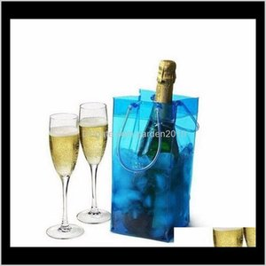 Buckets And Coolers Cooling Pvc Bottle Beer Holder Gift Bags Wine Ice Bag Wholesale Wen4581 Me0Lf Hpdum