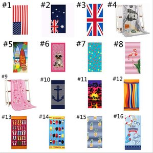 Beach Towel Ultra Soft Microfiber Beachs Carpets Towels For Adults Personalized Super Absorbent Quick Dry Pool sea shipping GWB8504