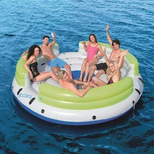 Inflatable Floats & Tubes Multi-floating Rest Water Swimming Floating Row Boat Fishing