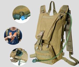 Borse da esterno tattica Molle Hydration Pack Zaino con 3L TPU Acqua Bladder, Daypack per ciclismo, Escursionismo, Esecuzione, Arrampicata, Caccia, Bicicletta