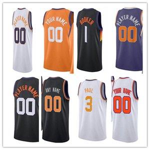 Man Printed Basketball City Jersey Custom 3 Chris 1 Devin Paul Booker 22 Deandre 99 Jae Ayton Crowder 10 Jalen 20 Dario Smith Saric Mikal Moore Bridges Any Name Number