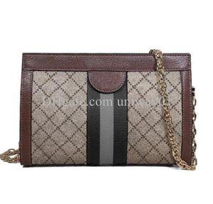 Woman Handbag Bag Chain purse women original box high quality letters clutch card holder