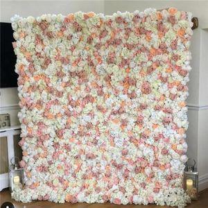 Düğün Dekorasyon Olay Çiçek Duvar Backdrop Masa Koşucu Çiçek Asılı Yapay Çiçekler Toptan Dekoratif Çelenk