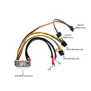 450W-24Pin 12V UT1.5-4 Input Peak 450W Output Realan Mini ITX Pico PSU DC ATX PC Switch DC-DC ATX-Power Supply
