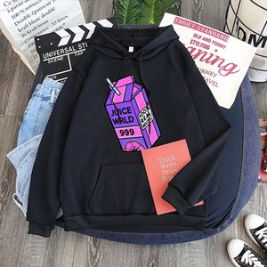High Quality Juice Wrld Printed Men Women Hoodies Streetwear Harajuku Pullover Fashion Tops Oversized Trucksuit Clothes