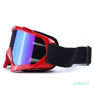 Ski Goggles Cross-country Motocross Goggles Men Women Snowboard Goggles UV400 Protection Anti fog Skiing Glasses Motorcycle MTB Cycling