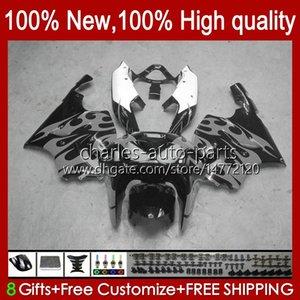 OEM Body For KAWASAKI NINJA ZX7R ZX750 1996 1997 1998 1999 2000 2001 2002 2003 Bodyworks 28HC.80 grey flames new ZX 7 R ZX 750 ZX 7R ZX-750 ZX-7R 96 97 98 99 00 01 02 03 Fairing