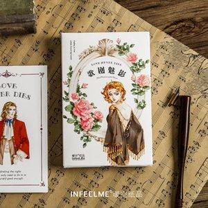 Bookmark 30pcs lot Phantom Of The Opera Series Postcard Greeting Card Letter Paper Memo School Office Supplies