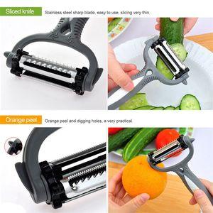 Stainless Steel Rotary Potato Peeler Vegetable Fruit Cutter Kitchen 559 R2