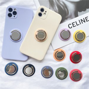 Finger Ring Cell Phone Holders Mounts Accessories Universal 10 colors For Apple Samsung