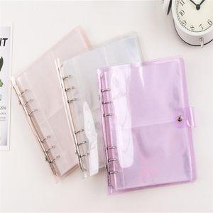 25 Pages PVC Portable Photo Album Jelly Color Album for Mini Instax & Name Card 7s 8 25 50s Album de Photos 2097 Z2
