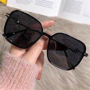 2021 casual Sunglasses Korean fashion gradient 016