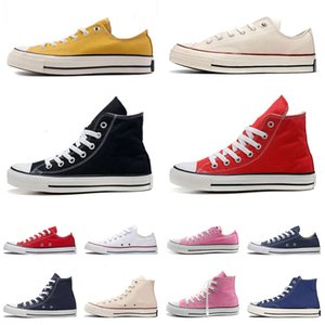 1 0s Canvas Casual Shoes Classic Black White Red Platform s Mens Womens Flat Sports Snekaers 36-44 AS5G