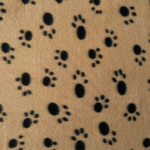 60*70cm Pet Blanket Small Paw Print Towel Cat Dog Fleece Soft Warmer Lovely Blankets Beds Cushion Mat Dog Blanket Cover 22 Colors DBC 433 V2