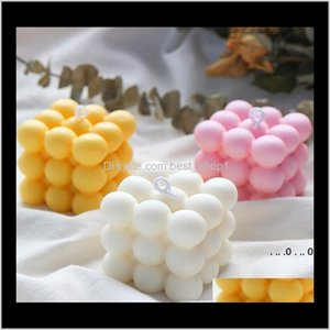 Baking Moulds Diy Mould Aromatherapy Plaster Candle 3D Sile Mold Handmade Soy Candles Aroma Wax Soap Molds Ewf5362 2X6X Uukmp