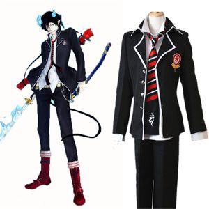 No Anime Ao Blue Exorcist Rin Okumura Yukio Cosplay JP Uniforme Escolar CostumeCool