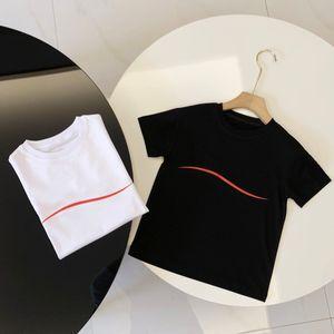Детские моды T Shrits Mens Женская летняя буква напечатана с волновыми тройниками Топы родитель-ребенок Семья Одежда дышащих футболок