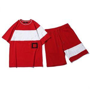 Print Mens Tracksuits T-shirts Pants Suit Summer Beach Tops Shorts Sports Setters Men Jopping Sportswear