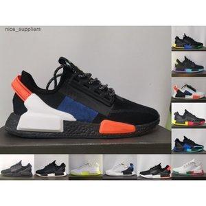 2021 new Dazzle camo nmd r1 v2 mens shoes core black white mexico city oreo og classic aqua tones men women japan sports sneakers