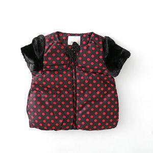 Vest 2021 Children Girls Spring Autumn Short Sleeve Jacket Infants Warm 3-7 Years Tops Kids Clothing