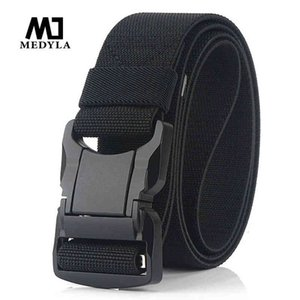 New Nylon Army Men Molle Military Swat Combat Belts Knock Off Emergency Survival Belt Tactical Gear