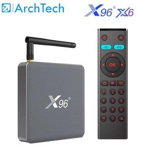 X96 X6 Android 11 Smart TV Box RK3566 1000M 2T2R MIMO Dual Wifi 8G128G Media Player Smart Set Top Box PK X96 MAX Plus