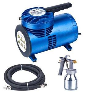 Air Compressor Paint Spray Gun For Home Painting Kit Car Wall Portable 750ml 0.8mm Nozzle Professional Guns