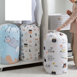 Storage bag beam mouth comforter large capacity clothes finishing moisture-proof dust-proof thickened bags 11 styles 2021