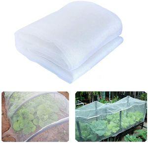 6 10 15 30M Garden Supplies Insect Bird Barrier Netting Mesh Gardens Bug Fruit Flower Plant Cover Net