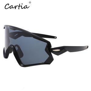 New Men Outdoors Sport Sunglasses Polarized Clout Goggles Big Sun Glasses Male Eyewear UV400 gafas de sol de los hombres