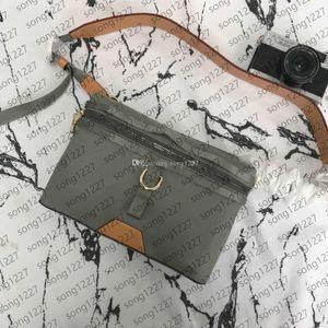 889 Сумки Messenger Summer Postman Bag Clanting Подходит для модного выбора повседневной жизни Размер 26x18x4см