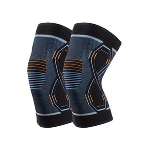 Elbow & Knee Pads Compression Brace Workout Support For Joint Pain Relief Running Biking Basketball Knitted Sleeve Adult