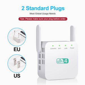 300Mbps WiFi Repeater 2.4GHz Range Extender Routers Wireles-Repeater Amplifier Signal Booster 3 Antenna Long-Range Expander 10pcs