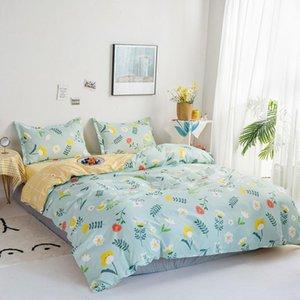 Bedding Sets Single Double Full King Cartoon White Duvet Cover Pillow Case Sheet Teen Girl Bed Linens Parure De Lit 2 Personnes