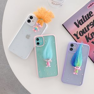Elf troll doll TPU phone cases for iPhone 12 11 pro promax X XS Max 7 8 Plus