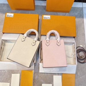Latest Gradient Embossing Pattern Tote Bag Women Designers Handbags PETIT SAC PLAT 2021 Fashion Shoulder Crossbody Bags High Quality Leather