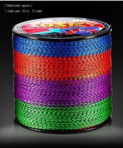 Braided Fishing Line 166M 366M 666M 8 Strands Strong PE Speckle Multifilament Durable JAPAN Cord Braid