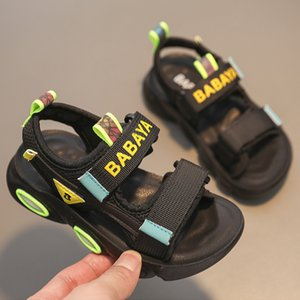 Children's beach sandals boys' casual antiskid and breathable 2021 summer new open toe fashion sneakers